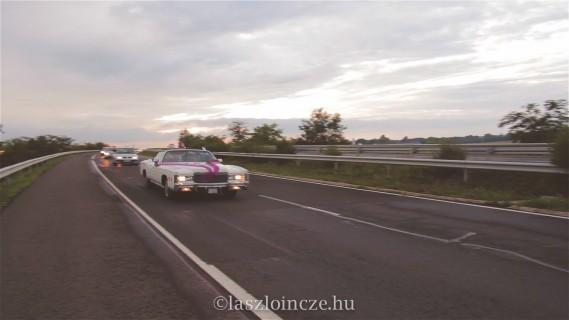 Úton a Gellény Bírtok felé - kép a videóból
