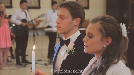 Templomi szertartás - kép a videóból